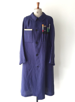 Scye Mercantile×河内洋画材料店コラボPAINTER COAT
