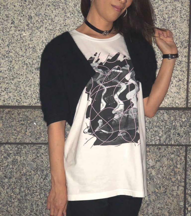 original t shirts kawachi gazai 河内 画材